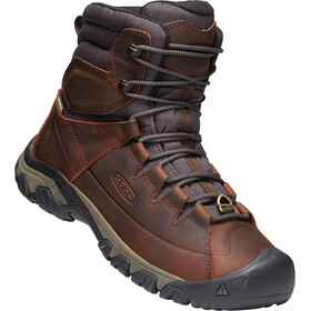Keen Targhee Lace High Stivali Uomo marrone